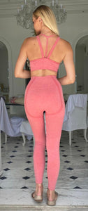 Liza's Seamless Fitness Suit