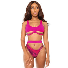 Load image into Gallery viewer, Two Piece Cut Out Swimsuit Set