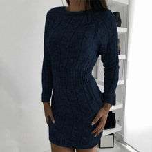 Load image into Gallery viewer, Knitted Bodycon Dress