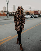Load image into Gallery viewer, Vintage Leopard Coat
