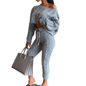 Knitted 2 Piece Set