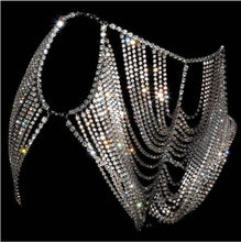 Load image into Gallery viewer, Crystal Body Harness Jewelry