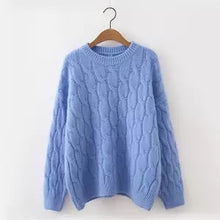 Load image into Gallery viewer, Vintage Knitted Loose Sweater