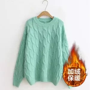 Vintage Knitted Loose Sweater