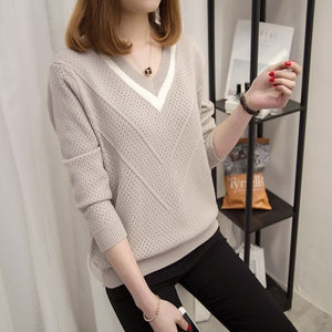 Hollow Loose Knitted Sweater