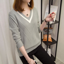 Load image into Gallery viewer, Hollow Loose Knitted Sweater