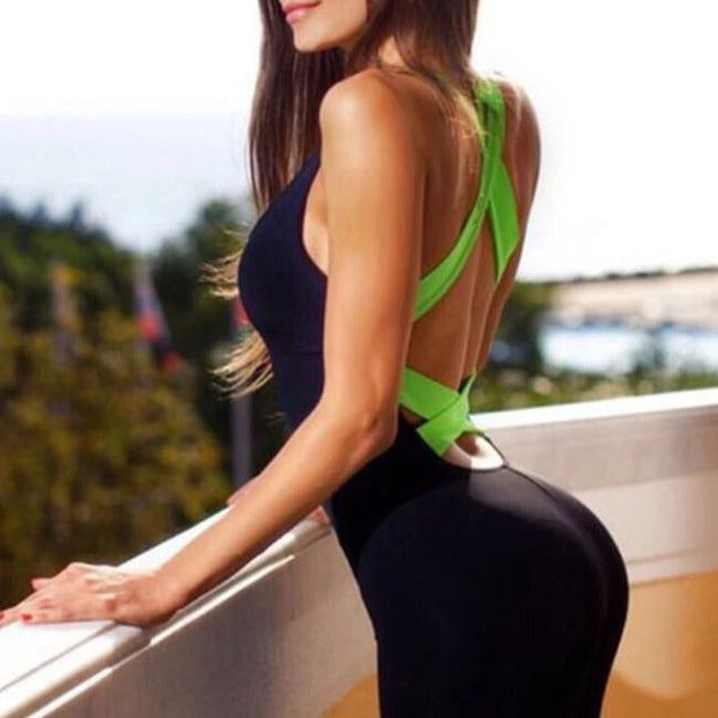 One Piece Yoga Fitness Suit