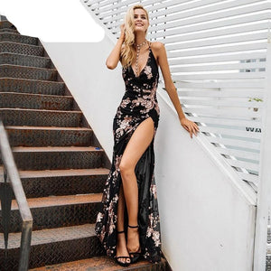 High Split Maxi Dress