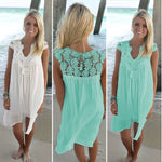 Seaside Beach Vacation Dress