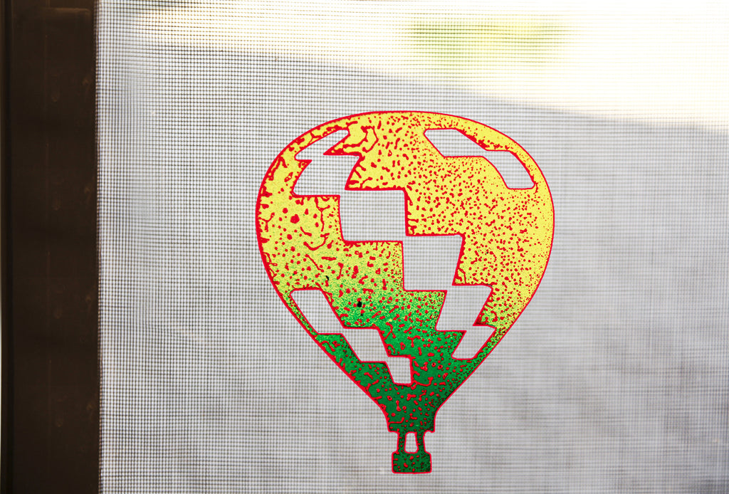Balloon Checked Screen Magnet