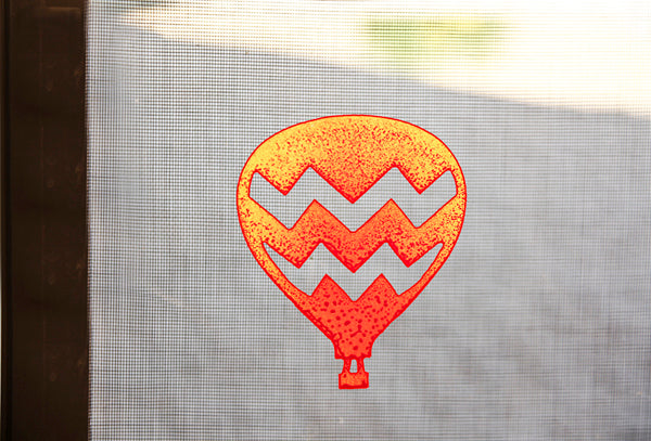 Balloon Zig Zag Screen Magnet