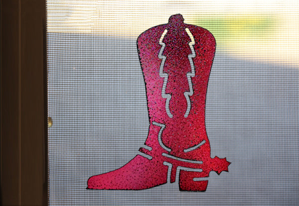 Cowboy Boot Screen Magnet