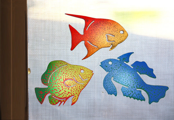 Tropical Fish Screen Magnet Trio