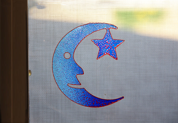 Moon and Stars Screen Magnet