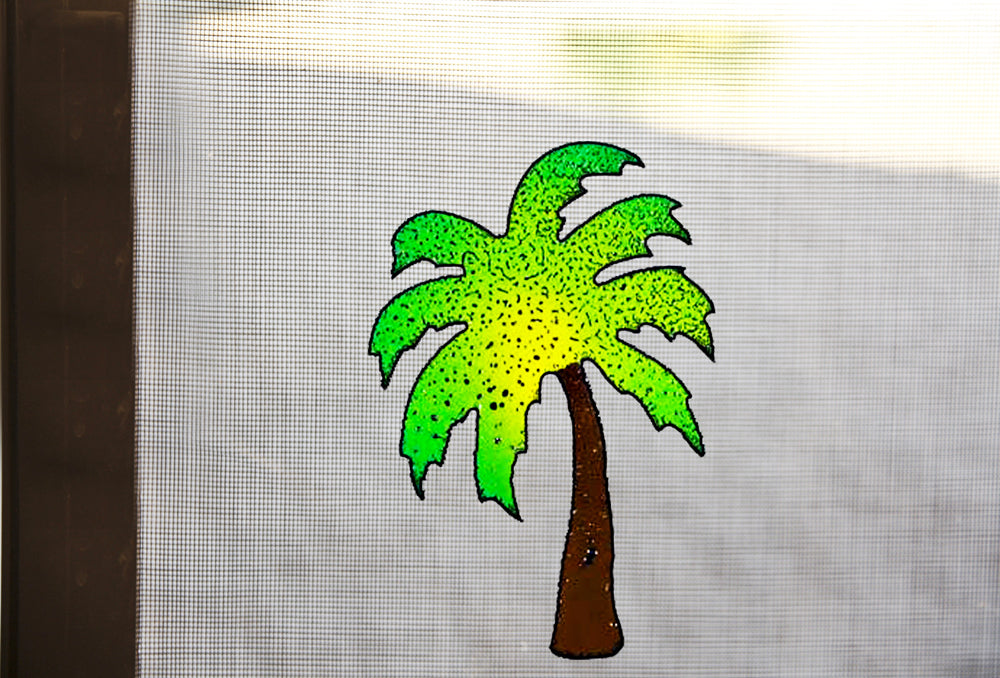 Palm Tree Screen Magnet