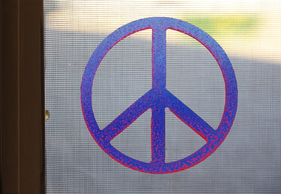 Peace Sign Screen Magnet