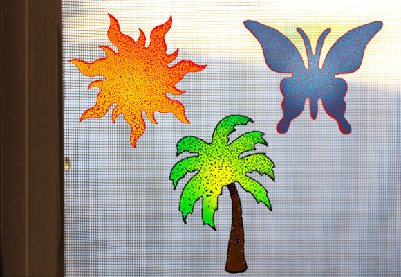 Summer Screen Magnet Trio