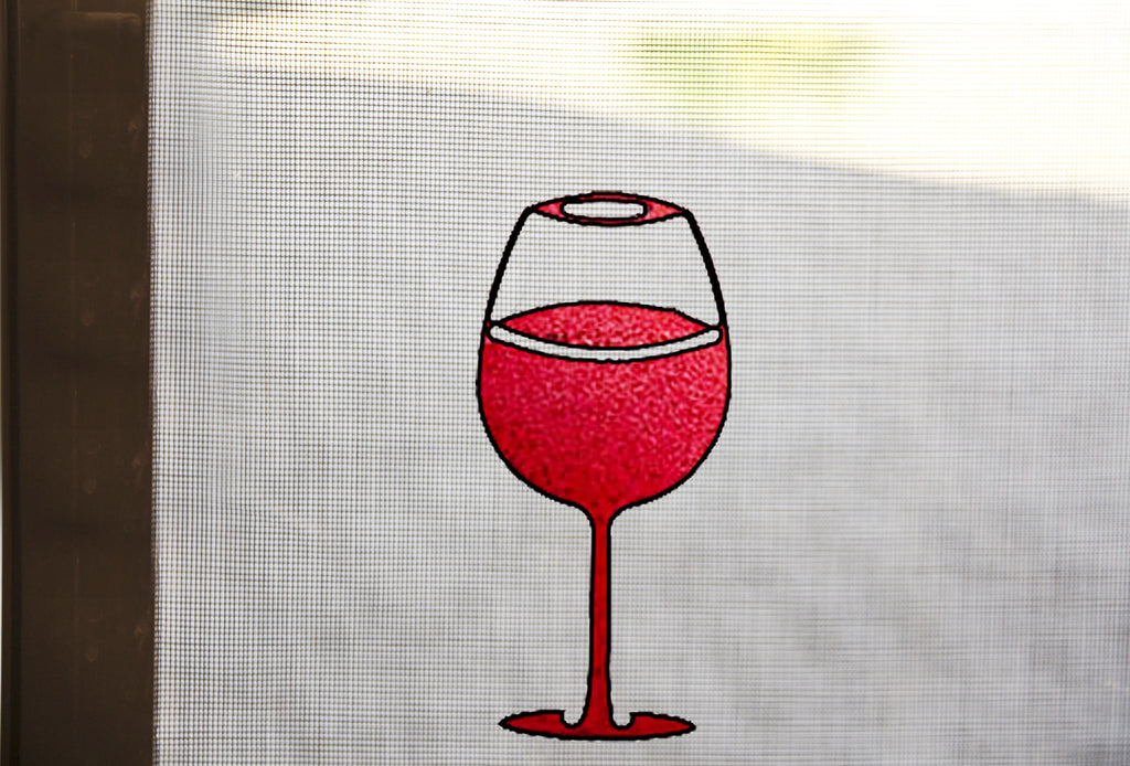 Wine Glass Screen Magnet