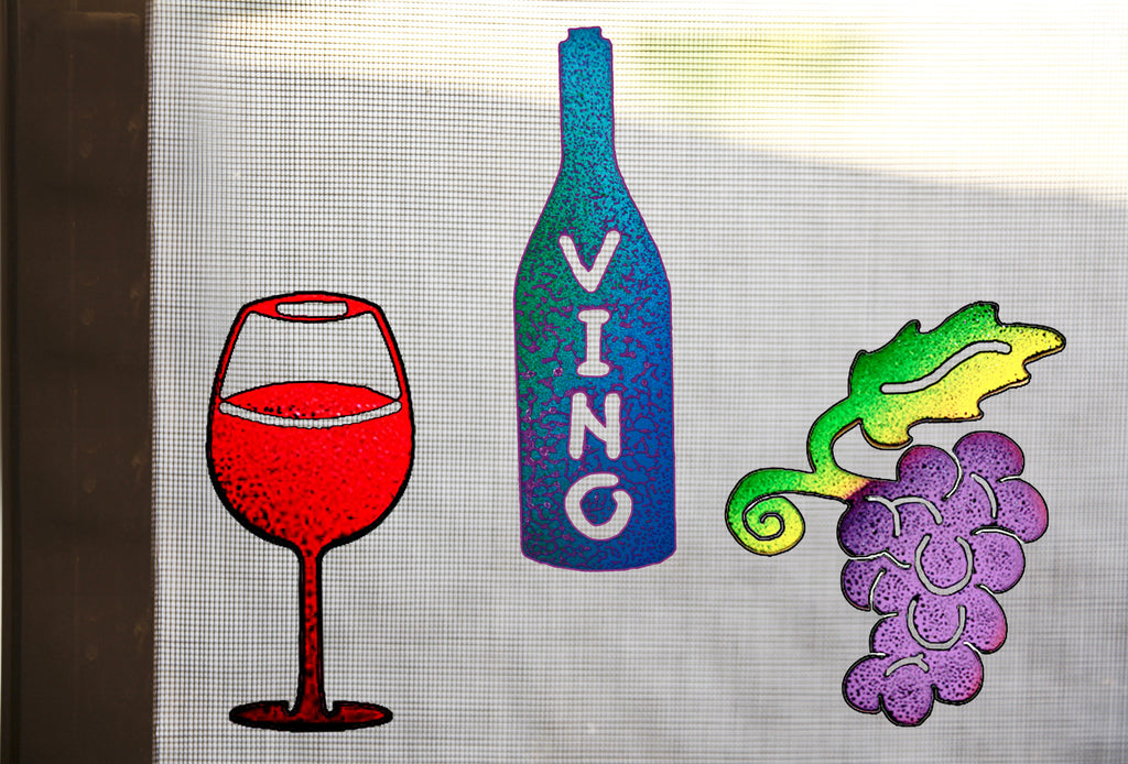 Wine Lovers Screen Magnet Trio
