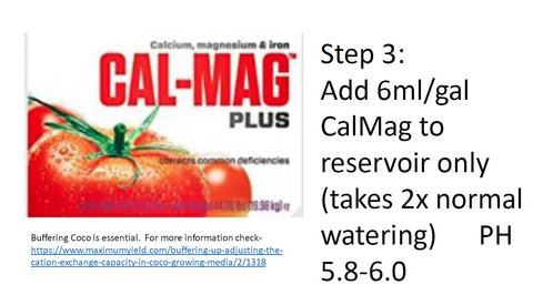 GroEzy hydrate with calmag