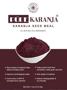 Pure Karanja Seed Meal from Earth Elements