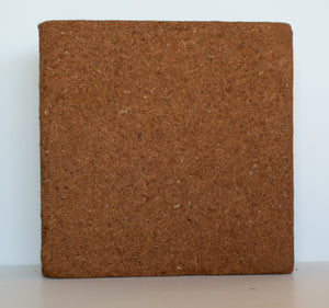 Pure Coco Organic Coco Coir compressed 11lbs naked block