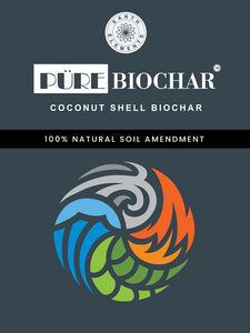 Pure Biochar made of Coconut Kernel