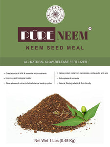 Pure Neem Seed Meal from Earth Elements