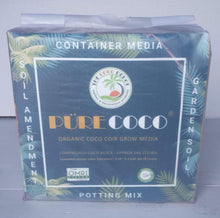Load image into Gallery viewer, Pure Coco Organic Coco Coir compressed 11lbs block Individually packaged
