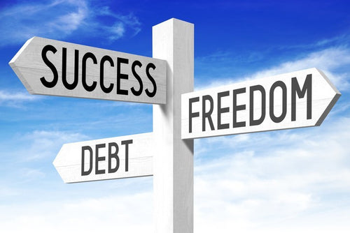 7 steps to get rid of debt