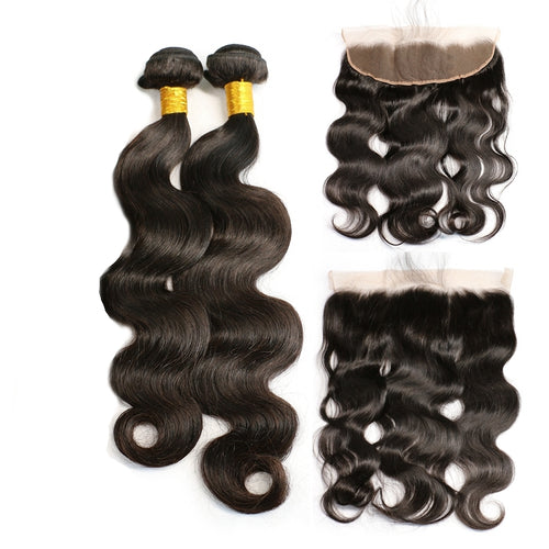 Tissagens (bundles) com lace frontal 13x4
