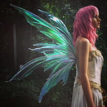 Load image into Gallery viewer, ZENA Iridescent Fairy Wings
