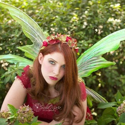Leaf style fairy wings