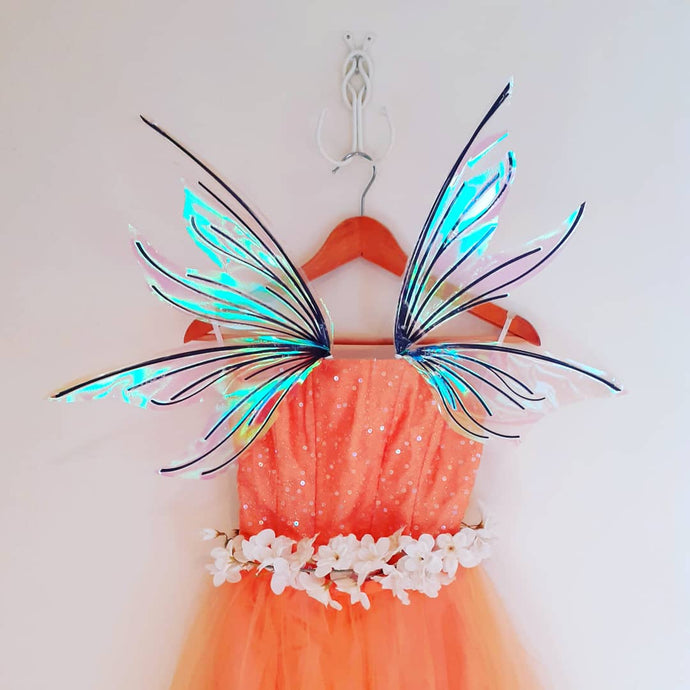Child whimsical wings