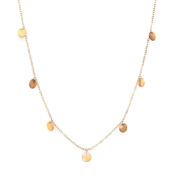 Collier Daera Pampilles d'Or - MANAL PARIS
