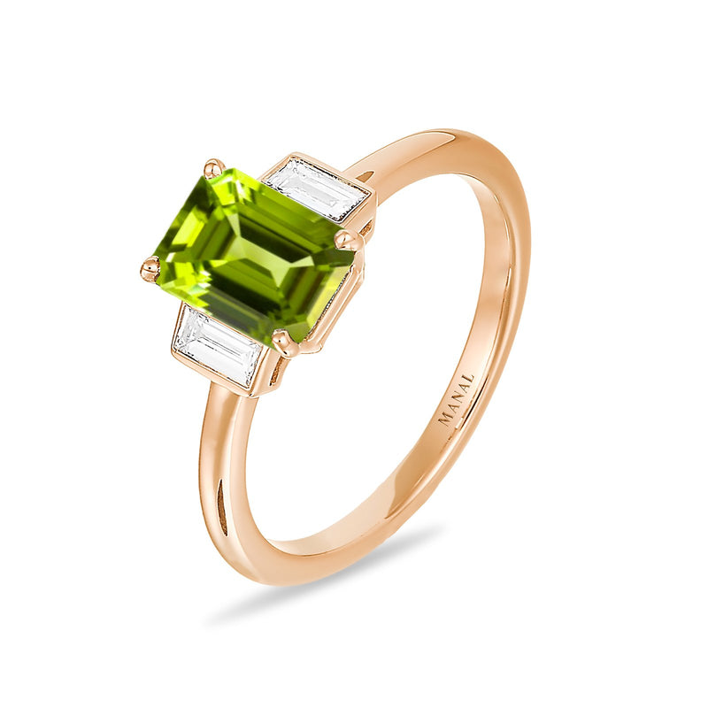 Bague Roma Verde - MANAL PARIS