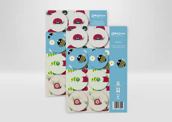 Bees, Bugs & Butterflies Children's Wrapping Paper & Tags