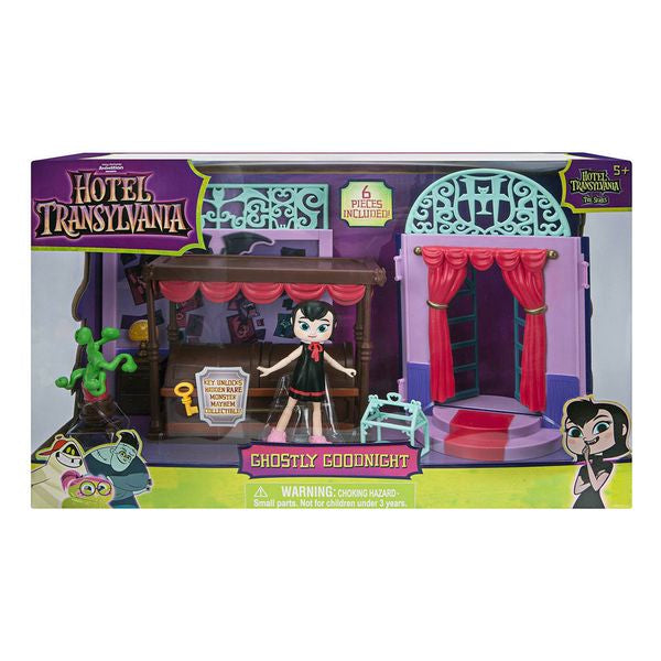 Playset Ghostly Goodnight Hotel Transilvania Bizak 114430