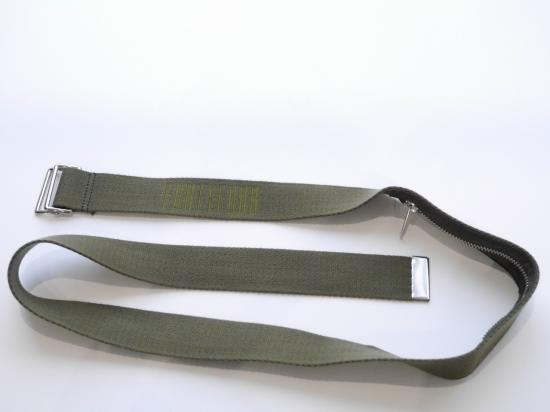 DOUBLE RING BELT(OLIVE) -FORTYFOUR- 16S/S