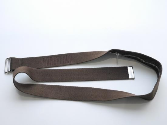 DOUBLE RING BELT(BROWN) -FORTYFOUR- 16S/S