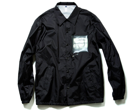 "NYLON COACH JACKET""TEHNEW ART""(BLACK)"