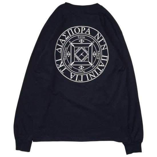 MAGIC CIRCLE L/S TEE (BLACK)