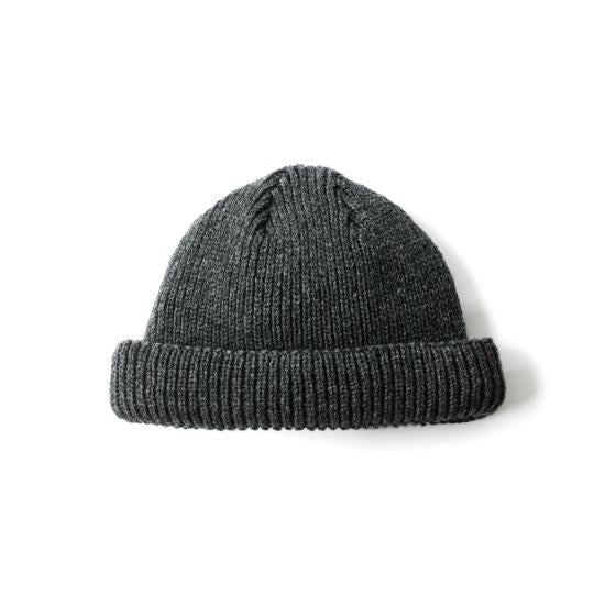 SHORT LENGTH BALL WATCH CAP(GREY)
