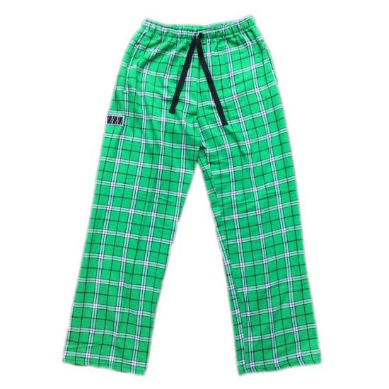 PLAID PAJAMA PANTS(GREEN)