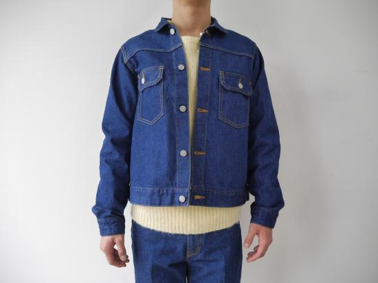 JEANS PG1 JACKET(BLUE)