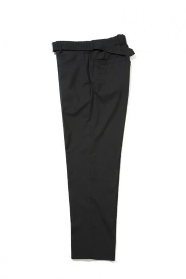 CORDURA COMBAT WOOL TROUSERS WUTH NYLON BELT(BLACK)