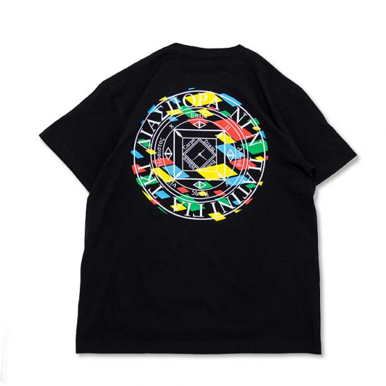 LJJ MAGIC CIRCLE TEE (BLACK)