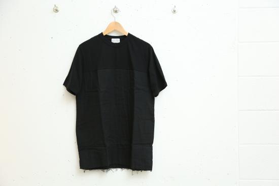 SWITCH GAUZE TEE(BLACK)