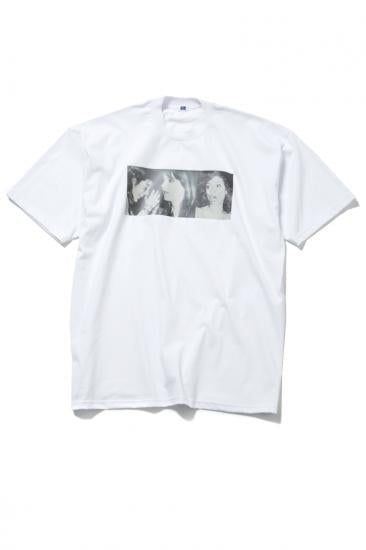 "H/S BIG T ""THREE LADIES""(WHITE)"