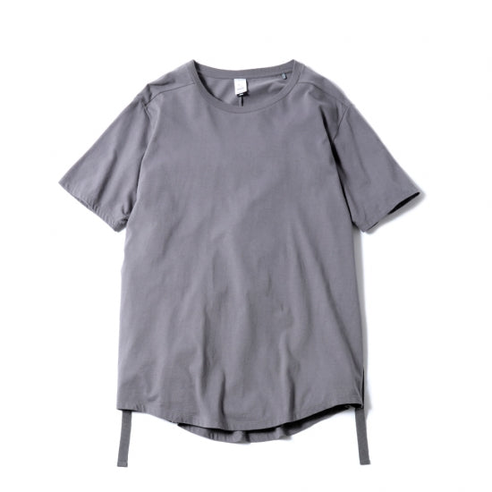 "NEW ROUND TAIL CLAS""SICK"" TEE (STEEL GREY)"
